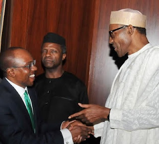 Buhari Osinbajo and Emefiele
