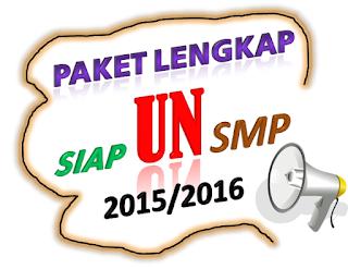 Paket Lengkap Siap UN SMP 2015/2016 Yang Paling Banyak Dicari