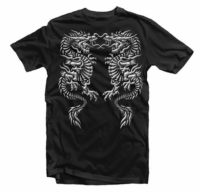 dragon design tshirt
