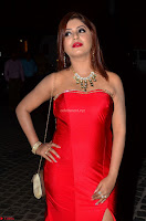 Sejal Jen Shah in Strapless Sleeveless Deep neck Red Gown at 64th Jio Filmfare Awards South ~  Exclusive 007.JPG