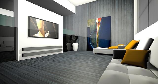 gambar ruang keluarga dengan desain yang minimalis