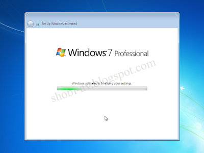 preparing cara install windows 7