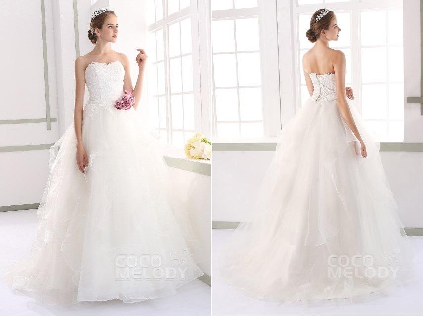 Lace Up Corset Wedding Dress 3 Popular  by Grace Luxury