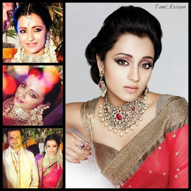 trisha...is engaged now with varun manian...best wishes trisha🎊🎉🎈👌, Trisha krishnan Varun Manion Engagement Photo Gallery & album