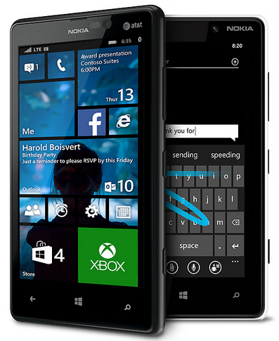 Nokia Lumia 820 Windows