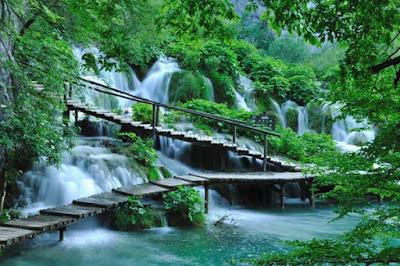 Puentes de Madera en Plitvice