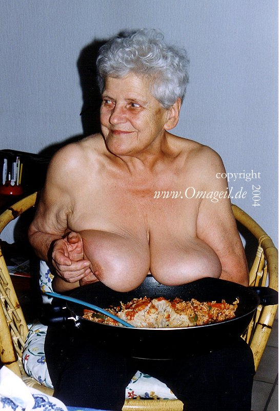 Things, speaks) old granny boobs think