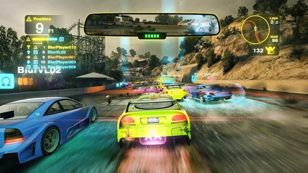 تحميل لعبة سباق السيارات blur للكمبيوتر من ميديا فاير