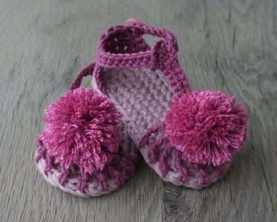 80 Patrones para hacer zapatitos, botines y zapatillas de bebés en crochet (free patterns crochet sandals babies)