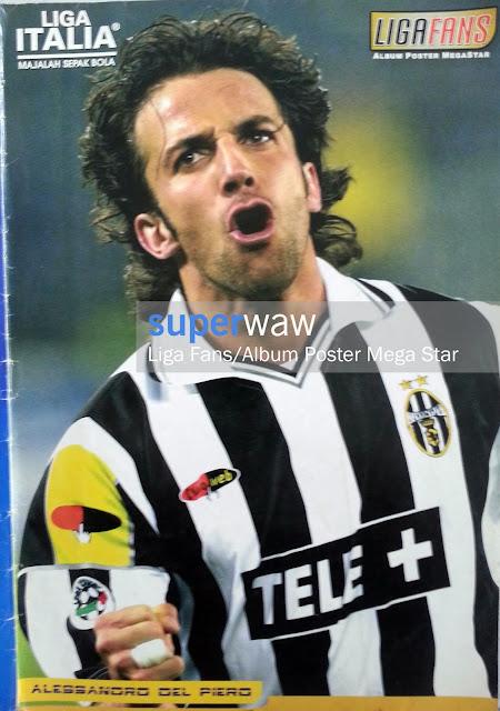 Poster Alessandro Del Piero (Juventus)