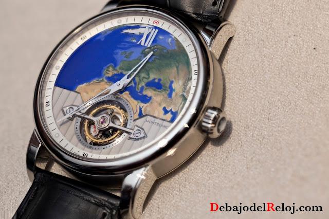 Montblanc 4810 ExoTourbillon Slim 110 Years Edition Europe