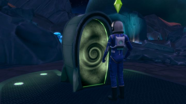 The Sims 4 Get to work ไปอวกาศ Sixam กลับบ้าน