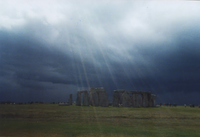 Hazy Sunshine at Stonehenge