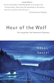 Hour of the Wolf by Hakan Nesser book cover