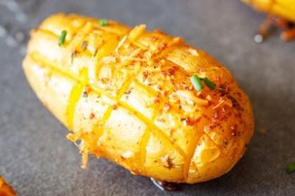 Cheesy Roasted Potatoes