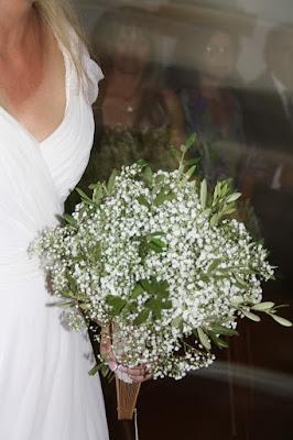 Ramos de novia con olivo