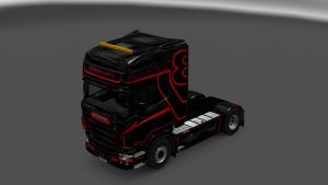 Manowar Skin for Scania RJL
