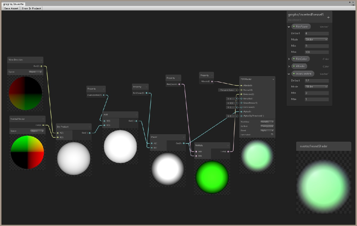 Getting started with Unity's new Shader Graph Node-based