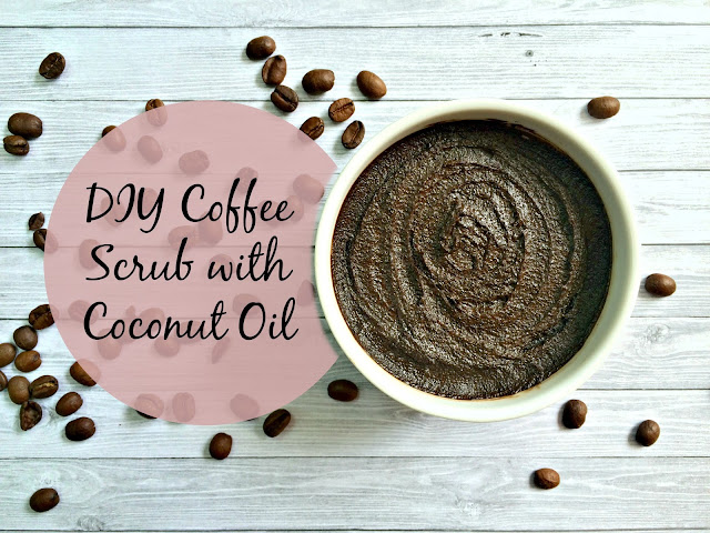 DIY Coffee Body Scrub with Coconut Oil