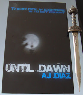 Portada del libro Until Dawn, de A. J. Diaz
