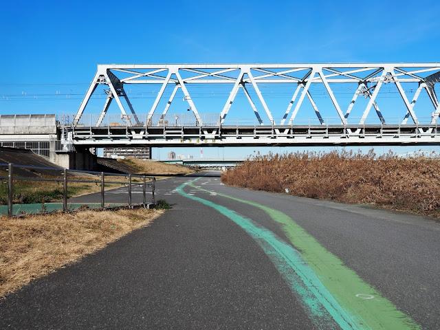 荒川自転車道 東武東上線