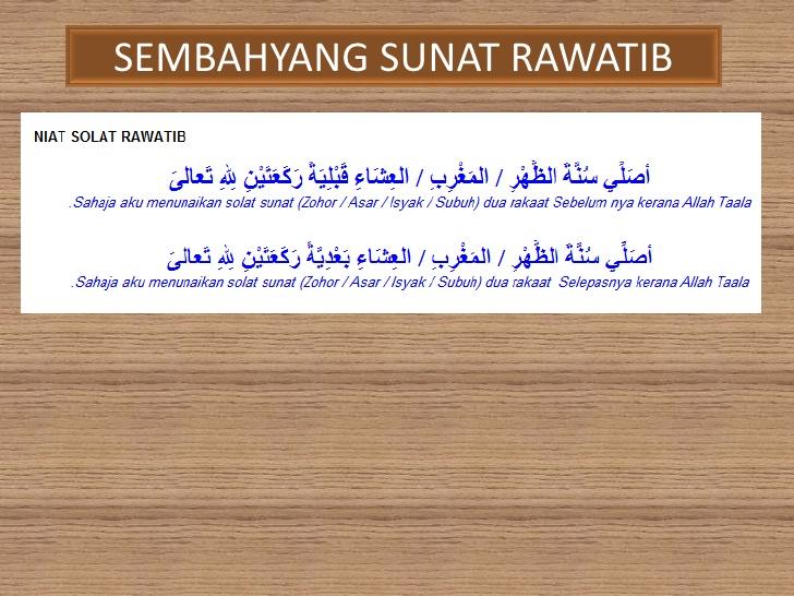 Abunnajwa Solat Sunat Menampung Solat Fardhu