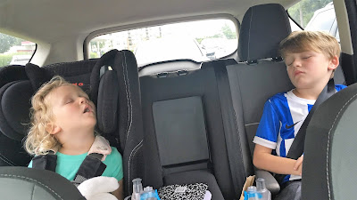 Kids Sleeping Car
