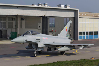 Einsitzer Eurofighter Typhoon FGR.4 ZK356
