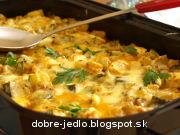 Zapekaná cuketa s paradajkami a tofu syrom - recept