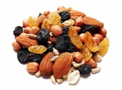 Quelles calories dans les fruits secs ?