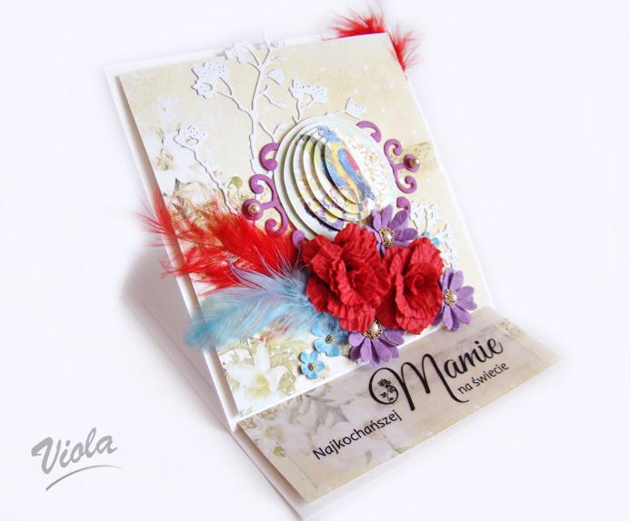 kartka sztalugowa na dzień matki