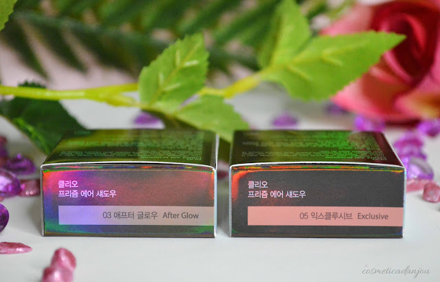 CLIO Prism Air Shadow #3 After Glow & #5 Exclusive Review