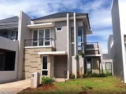 Model Rumah Minimalis 2 Lantai Type45