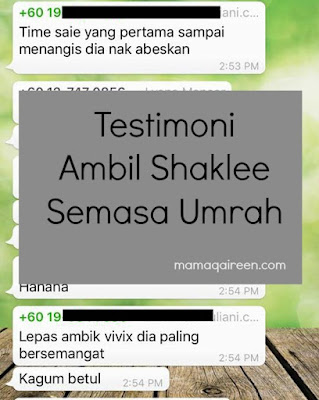 testimoni vitamin haji dan umrah