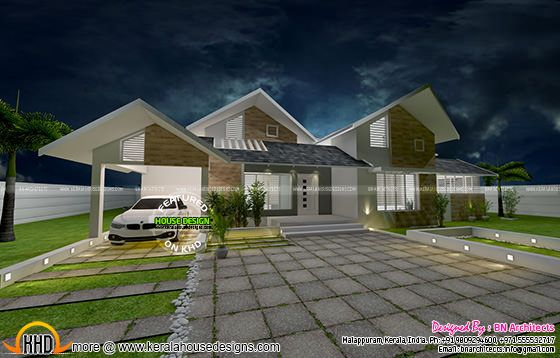 Spacious single floor house