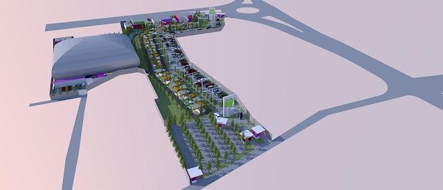 Site Plan Lapangan Futsal