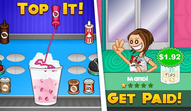 تحميل لعبة Papa's Freezeria برابط مباشر على الكمبيوتر