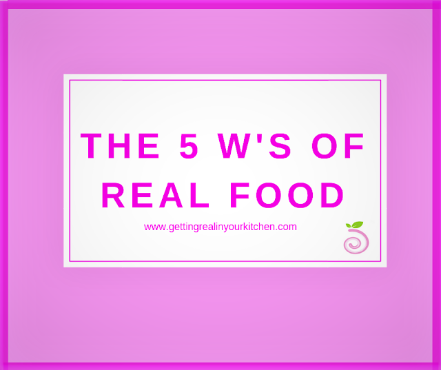 What is Real Food Title Image