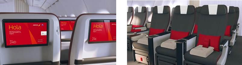 Iberia implanta terceira cabine nos voos para o Brasil até o final do ano