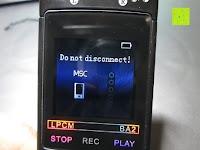 Akku leer: GHB 8GB Digitales Diktiergerät Aufnahmegerät Audio Voice Recorder mit Stereoaufnahmen, MP3 Player und USB Spericher -Schwarz