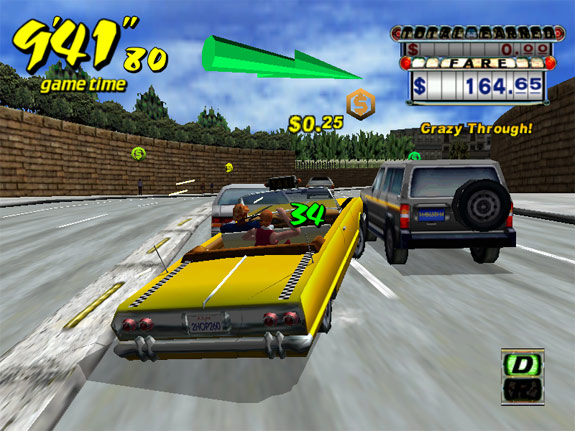 Crazy Taxi screenshot 1