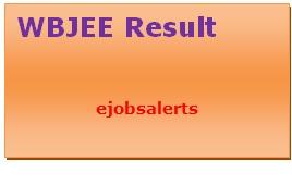 WBJEE Result 2017