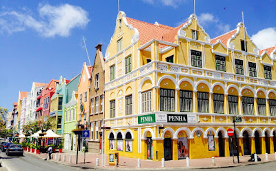 The Penha building at Willemstad, Curaçao