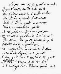 Poesia L'Infinito