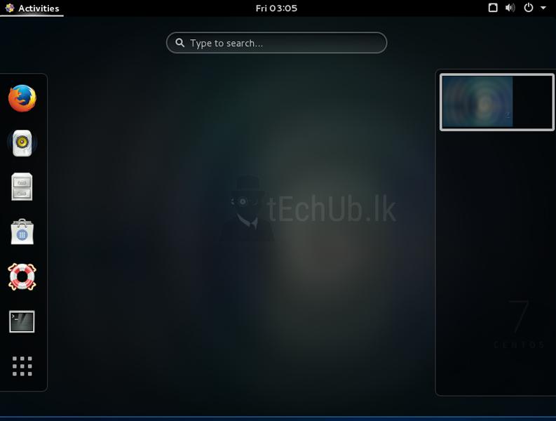 How to install Linux Desktop environments CentOS7 - tEchUb lk