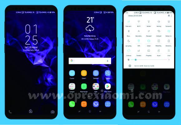 Tema Miui Pure SGS9+ Mtz Update Tema Samsung Terbaru