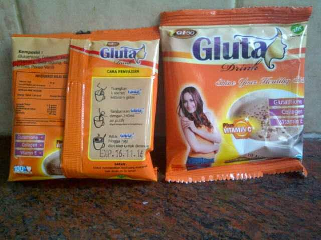 Gluta Drink BOX Gluta Drink Sachet