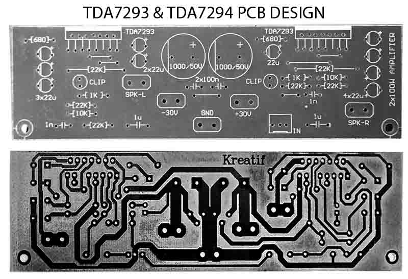 TDA7293 vs TDA7294 Audio Power Amplifier Project - Electronic Circuit
