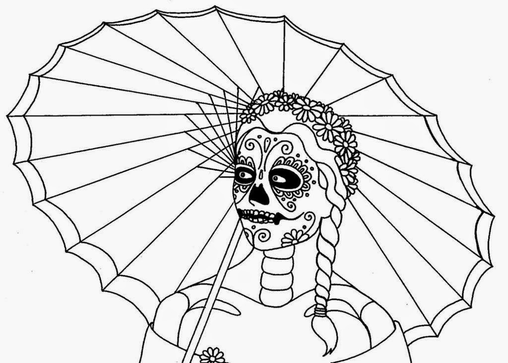 free printout coloring pages | Coloring Pages: Skull Free Printable Coloring Pages