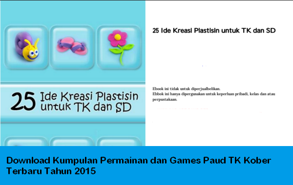 Download Kumpulan Permainan Dan Games Paud Tk Kober